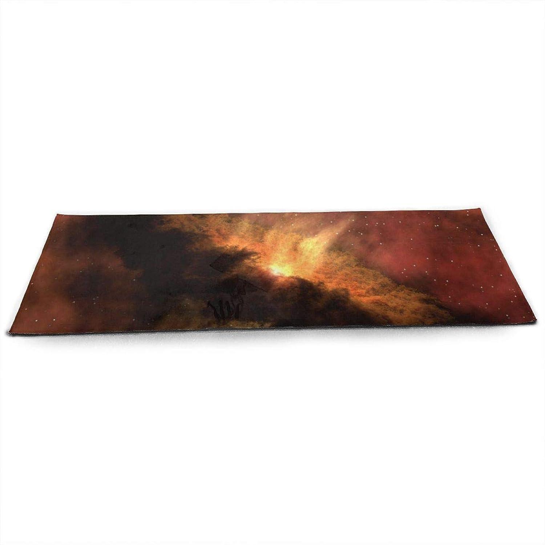 Whages Solarsystememergencespitzertelescopetelescope41951 NonSlip Soft Advanced Printed Environmental Yoga Mat 31.5   × 51.2