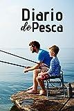 Diario de Pesca: Cuaderno de Pesca Formato A5   100 Paginas Para Apuntar Todos los Detalles   Fecha, Lugar, Meteorología, Aparejos, capturas...  ... Regalo Perfecto para Pescador y Aficionados.