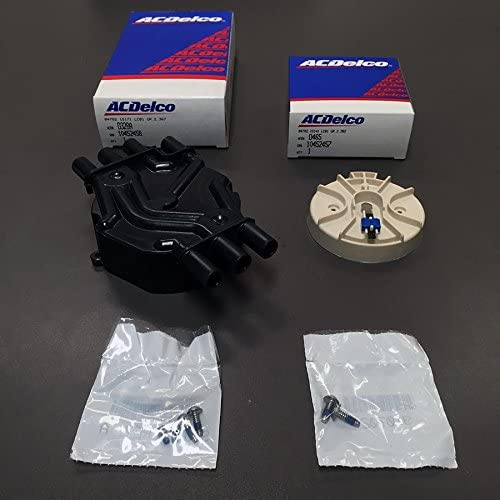 AcDelco GM Distributor Cap shop D328A Indefinitely Kit D465 And Vortec-6 Rotor