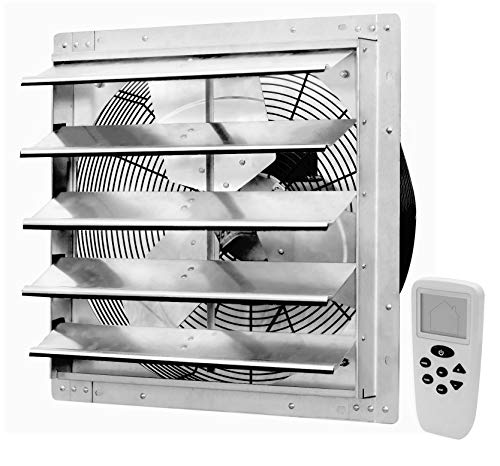 iLiving 18 Inch Smart Remote Shutter Exhaust Fan