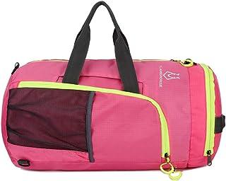 Jojck Multifunctional Collapsible Large Capacity Waterproof Nylon Sport Bag Gym Training Fitness Travel Handbag Yoga Mat Backpack