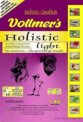 Vollmers Holistic Light | 15kg Hundetrockenfutter mit wenig Kalorien