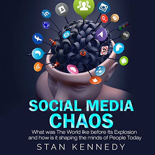Social Media Chaos audiobook cover art