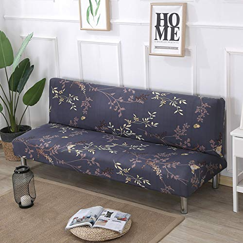 SSDLRSF Fundas sofá 150-185cm Funda de sofá Cama sin Brazos Estampado de Flores Fundas de sofá Fundas de sofá Funda de sofá Toalla para Sala de Estar en casa