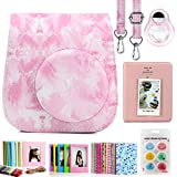 CAIUL Compatible Mini 11 Camera Case Bundle with Album, Filters and Other Accessories for Fujifilm Instax Mini 11 (Hand Painted, 7 Items)