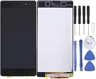 قطع غيار شاشة LCD وشاشة LCD ومحول رقمي مجموعة كاملة لأجزاء إصلاح الهاتف المحمول Sony Xperia Z2 الإصدار 4G