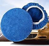 NO LOGO W-Shuzhen, Cofano in Microfibra for ceretta for Auto tampone di lucidatura Automatica Sostituzione del Coperchio di Ricambio for Auto ceretta Lucida Panno X17 (Taglia : 7 8 Inches 5Pcs)