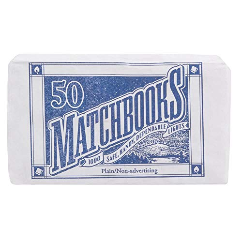 D.D. Bean & Sons 300 Matchbooks (6 Pack of 50 Matchbooks Each) (Best Way To Hide Money From Creditors)