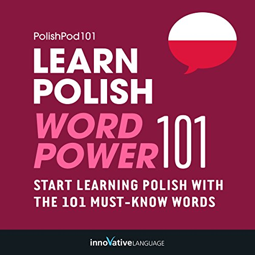 Learn Polish - Word Power 101 audiobook cover art