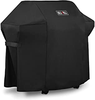 DallasCover Grill Cover 7106 Cover for Weber Spirit 200 and 300 Series Gas Grill (Compared to 7106),52 x 43-Inch Heavy Duty Waterproof & Weather Resistant Outdoor Barbeque Grill Covers