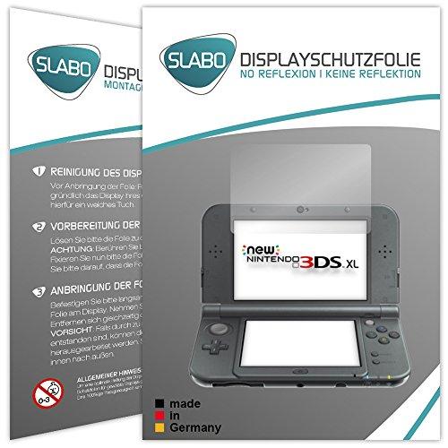 Slabo 4 x Displayschutzfolie für New Nintendo 3DS XL Displayschutz Schutzfolie Folie No Reflexion | Keine Reflektion MATT