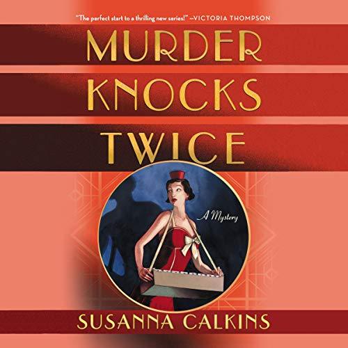 Murder Knocks Twice audiobook cover art
