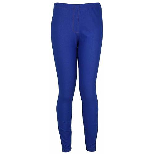 cff60138e8cfa New Womens Ponte Denim Jeans Leggings Ladies Plus Size Elasticated Waist  Stretch Fit Trousers Jeggings