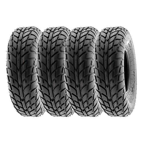 "SunF 19x6-10 19x6x10 Tubeless 6 PR 19"" ATV UTV Tires A021 [Set of 4]"