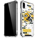 Skinit Clear Phone Case Compatible with iPhone XR - Officially Licensed NFL Green Bay Packers - Blast Design