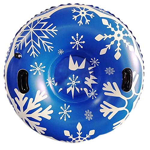 FYRS Sportstuff Ski Tube Inflable Trineo Pesado Snow Snow Sledding para niños y Adultos