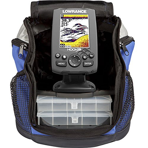 Lowrance 000-12638-001 Hook-3X All Seas. Pack Sonar 83/200 XDucer Fishfinder