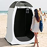 Alvantor Shower Tent Changing Room Outdoor Toilet Privacy Pop Up Camping Dressing Portable Shelter Teflon Coating Fabric 4'x4'x7' Patent