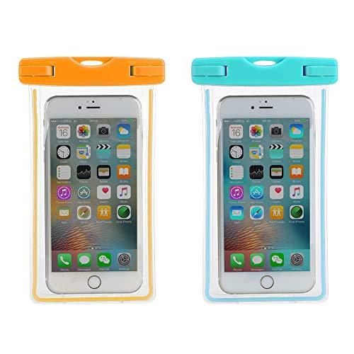 JOJYO wasserdichte Handyhülle,Unterwasser Handyhülle für iPhone 11 Pro/X/8 Plus/8, Huawei bis zu 6