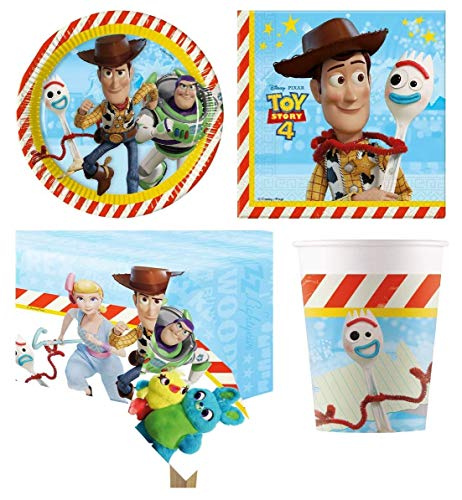 Toy Story 4 Party Pack para 16 Invitados