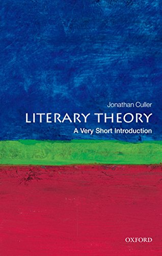 Literary Theory: A Very Short In...