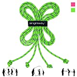 Brightedly 16 FT Long Jump Rope (2 Pack), Double Dutch Jump Rope, Long Skipping Rope Knotted Ends...