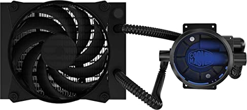 Cooler Master MasterLiquid Pro 120 CPU Liquid Cooler '120mm Radiator, 2X MasterFan Pro 120 AB PWM Fan, Blue LED' MLY-D12X-A20MB-R1