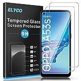 ELYCO Protector de Pantalla para OPPO A52/A53/A72/A53s/A73 5G, Vidrio Templado [2 Unidades] [Alta Definicion] 9H Dureza Anti-Caída/Anti-Rasguños Sin Burbujas Cristal Templado Screen Protector