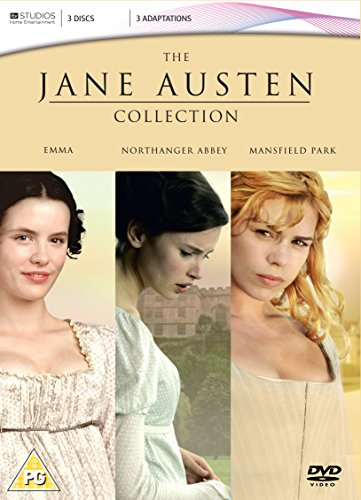 The Jane Austen ITV Collection - Mansfield Park / Northanger Abbey / Emma (3 Disc Box Set) [2007] [DVD]