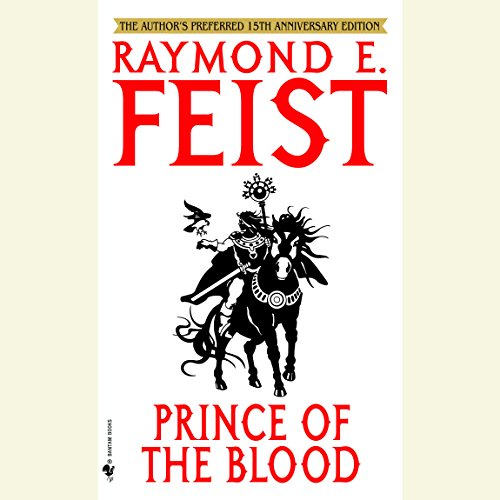 Prince of the Blood audiobook cover art