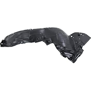 NI1248139 Front Driver Side Replacement Fender Liner for 15-19 Nissan Versa