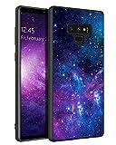 BENTOBEN Samsung Galaxy Note 9 Case, Note 9 Case, Slim Fit Glow in The Dark Soft Flexible Bumper Protective Shockproof Anti Scratch Non-Slip Case Cover for Samsung Galaxy Note 9 (2018), Nebula/Galaxy