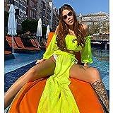 Señoras Traje Baño Bikini Bikini Beach Cover Up Traje De Baño Vestido De Dos Piezas Traje De Baño Mujer Verano Señoras Traje De Baño Ropa Sólida Túnic