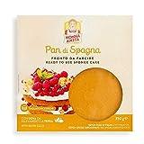 nonna anita pan di spagna tondo alla vaniglia con glutine - tagliato in 3 dischi - conf da 350 g - con ingredienti di alta qualità.