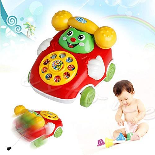 Buy Discount POITMAN Baby Telephone Car Toy Cartoon Car Phone Kids Educational Developmenta Push & P...