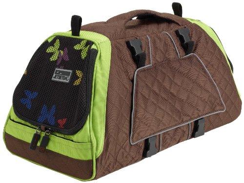 Petego JET SET GB FF S Forma New Frame Bag Vlinder, groen/bruin