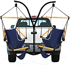 Hammaka Trailer Hitch Stand and Cradle Chairs Combo - Blue