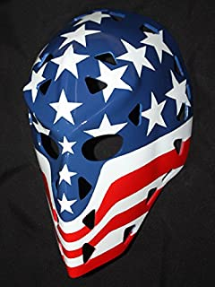 tripple_777 1:1 Custom Vintage Fiberglass Roller Ice Hockey Goalie Mask Keeper Helmet Bernie Wolfe HO28
