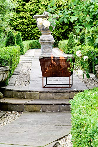 Ivyline Outdoor Norfolk Firebowl Rust Iron W52Cm