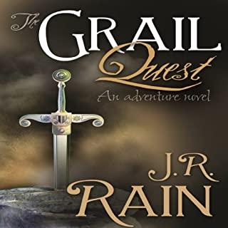 The Grail Quest audiobook cover art