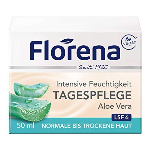 Florena Tagespflege mit Aloe Vera, Vegan, 1er Pack, (1 x 50 ml)