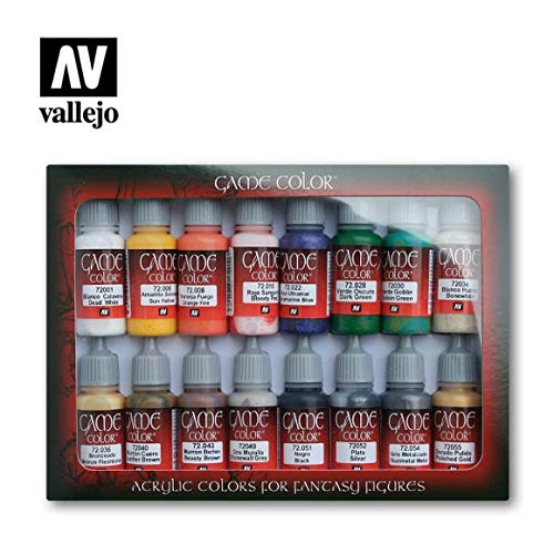 VALLEJO-3072299 72299 Vallejo Game Color Set DE 16,
