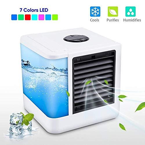 Ventiladores USB Espacio portátil Mini acondicionador de aire del ventilador enfriador de aire personal La rápida manera fácil for enfriar el aire acondicionado de aire del ventilador de refrigeración