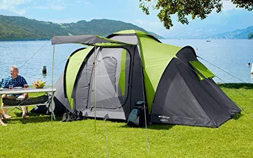 Berger Familienzelt Liberty 4 Zelt Tunnelzelt Festival Camping Zelten Trekkingzelt WS3000mm Strand