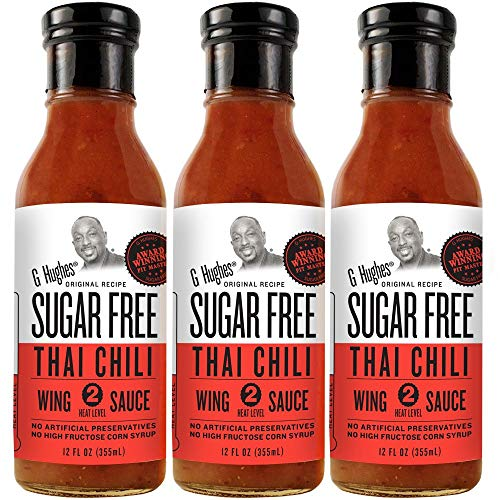 G Hughes Sugar Free Thai Chili Wing Sauce (3 Pack)