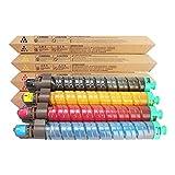 WENMWAdecuado para RICOH CL4000 Cartucho de tóner, Compatible Reemplazar Cartucho de tóner de la Impresora RICOH SP C410DN C411DN SPC420E CL4000 Laser,4 Colors