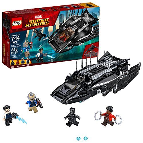 Product Image of the LEGO Marvel Super Heroes Royal Talon Fighter Attack 76100 Building Kit (358...