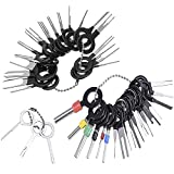 LOPP 76Pcs Release Pin Ejector Extractor Terminal Kit, Connector Puller Automotive, Auto Terminals Removal Key Tool Set for Most Connector Terminal Car 41pcs Sets