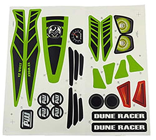 MLToys Replacement Stickers for Power Fisher Wheels Green...