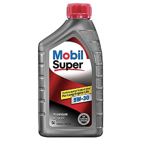 Mobil Super (120432-6PK 5W-30 Motor Oil - 1 Quart